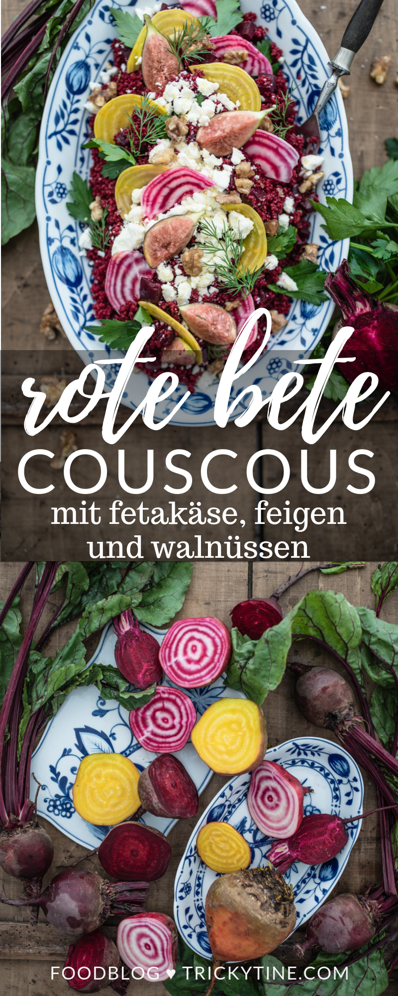 rote bete couscous feta trickytine foodblog