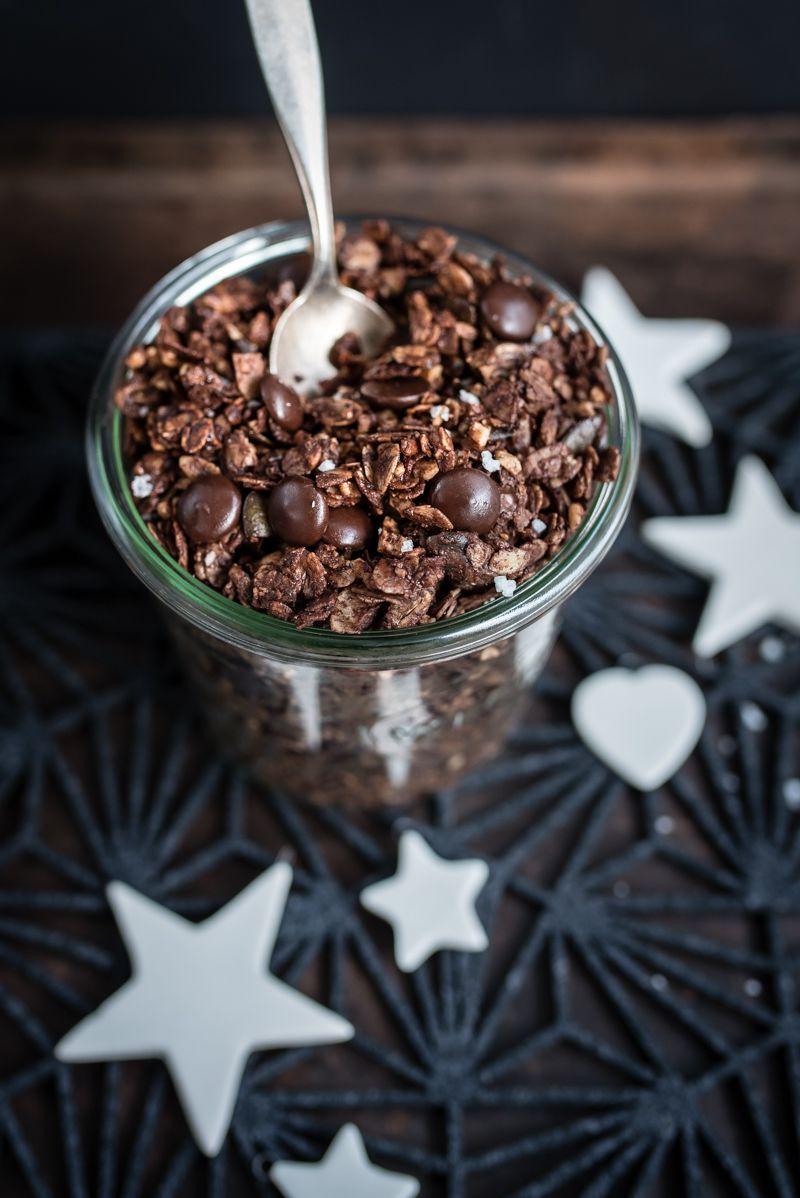 schokomüsli chocolate granola trickytine