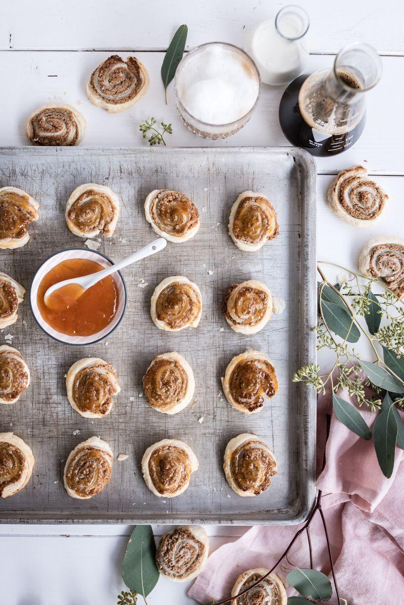 Milchkaffee Zimtschnecken Cookies trickytine