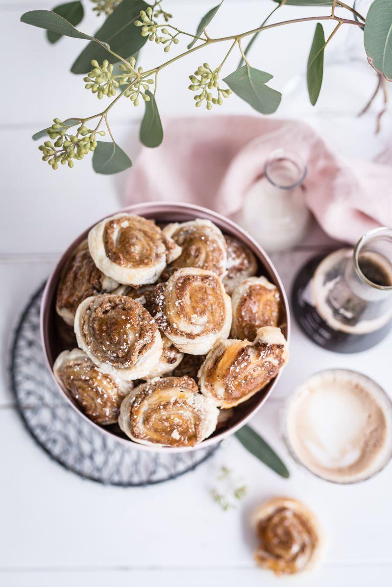 milchkaffee trickytine zimtschnecken cookies