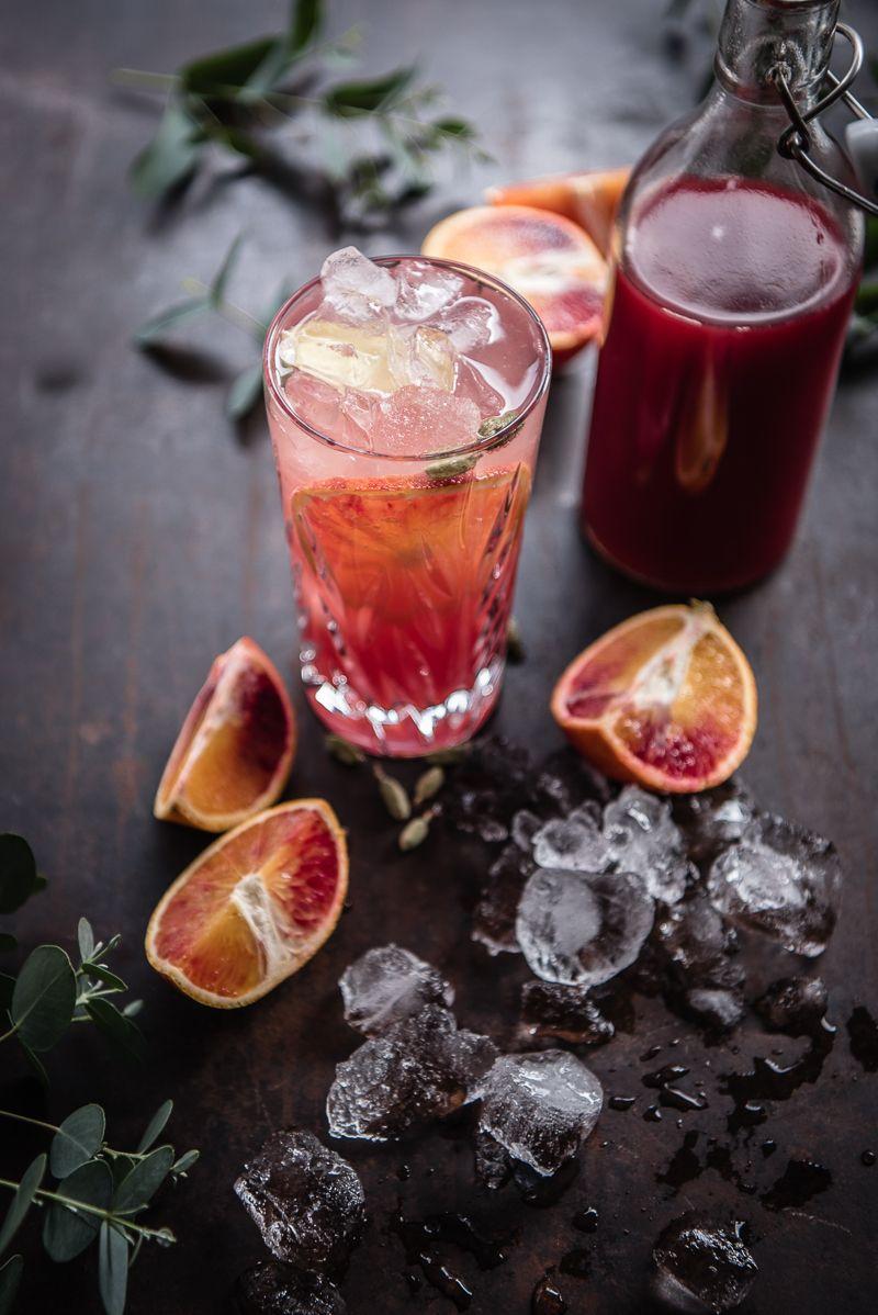 Blutorangen Gin Tonic trickytine