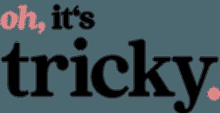 oh its tricky logo trickytine