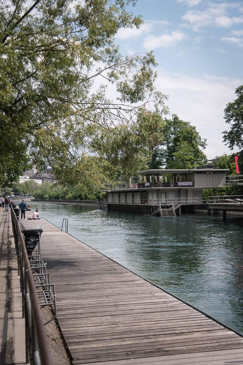 Zürich trickytine Limmat
