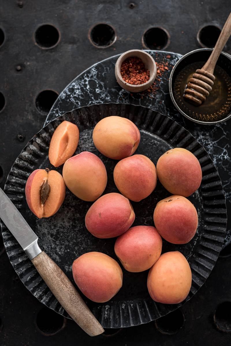 Crostini Aprikosen Schinken trickytine