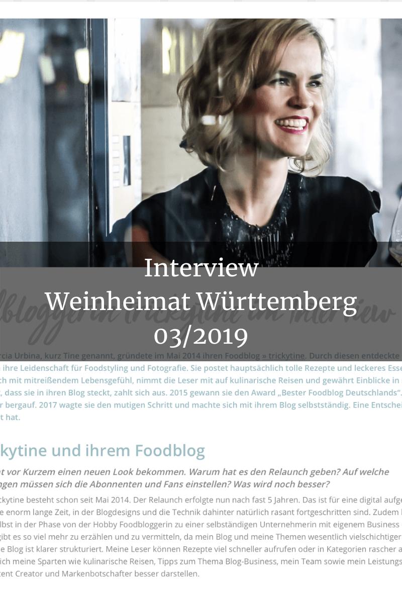 Presse Interview Weinheimat trickytine