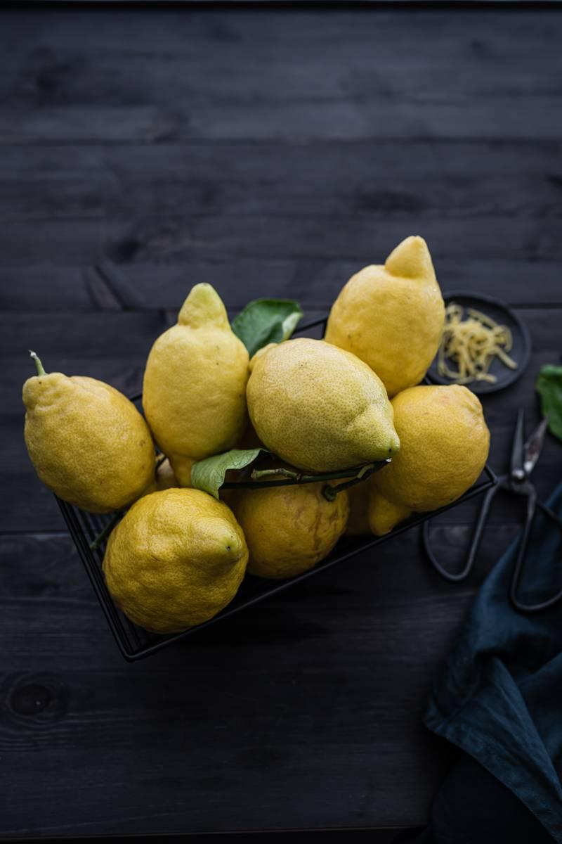 Tarte au citron Zitronentarte Rezept trickytine