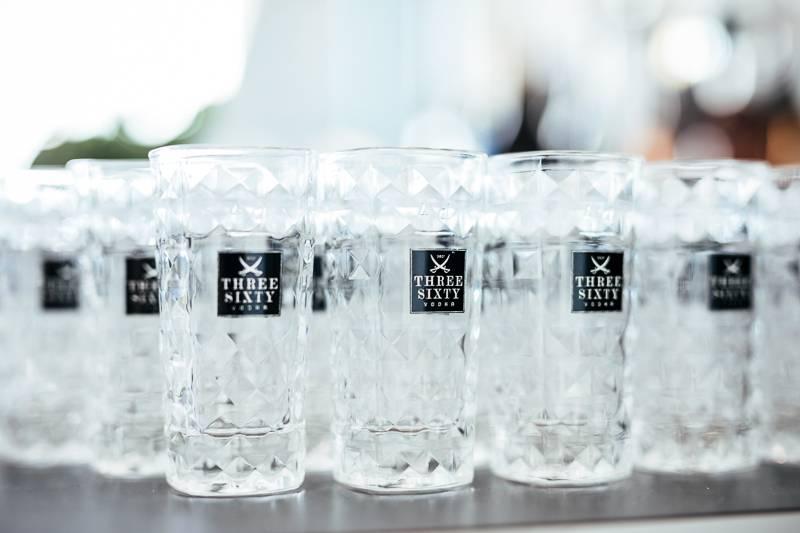 Three Sixty Vodka Wodka trickytine Event Micrococktail
