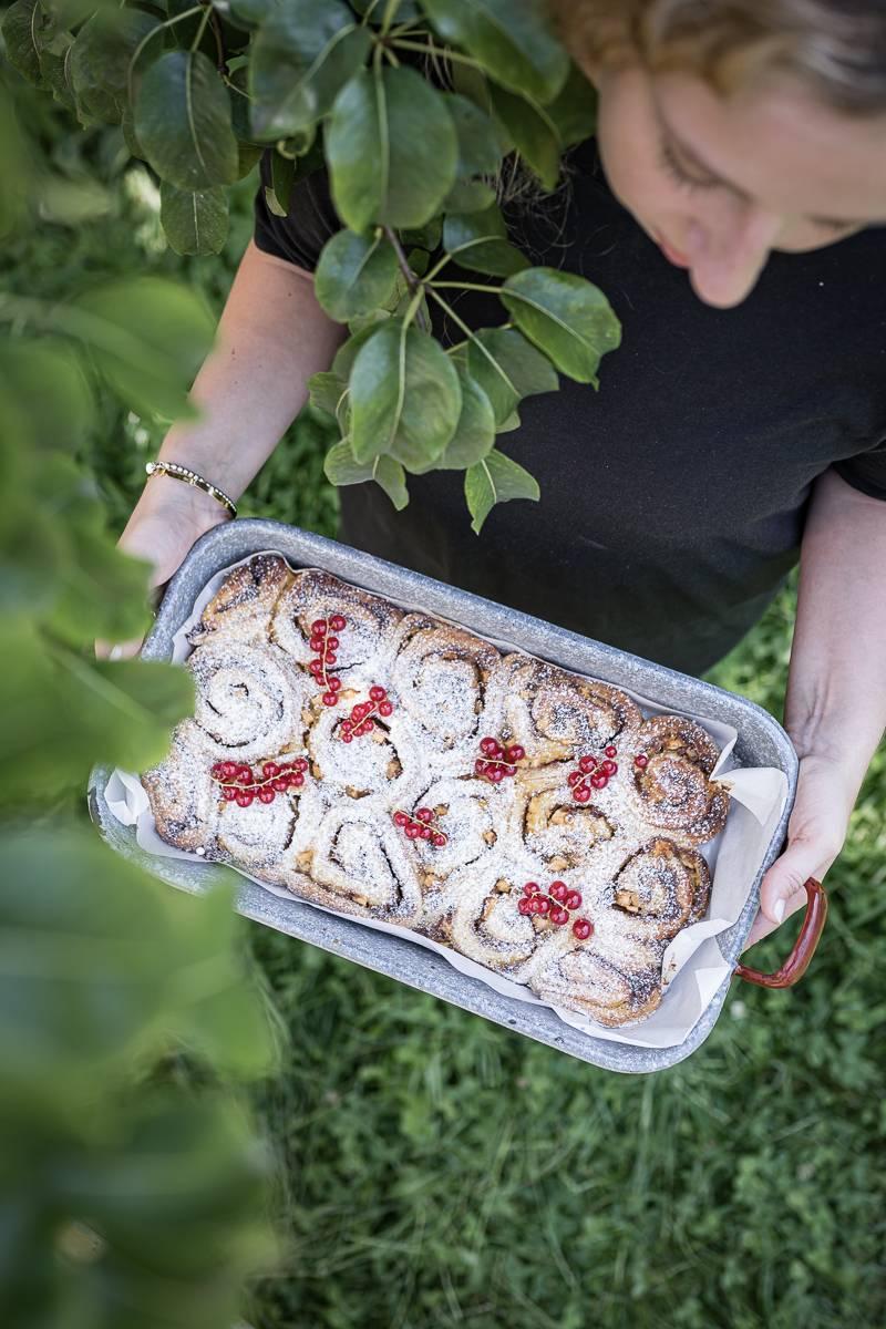 Apfelstrudel Zimtschnecken trickytine Foodblog Stuttgart