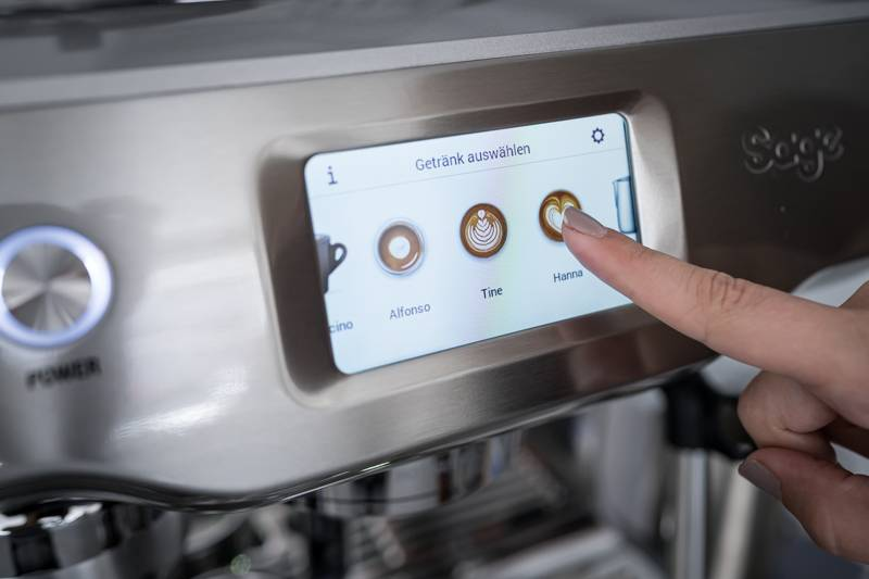 Tiramisu Sage Appliances Oracle Touch trickytine