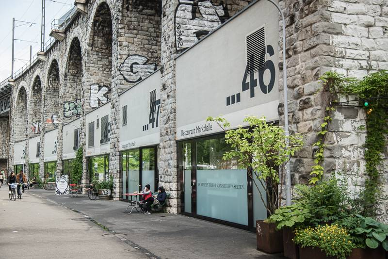 Zürich Reisetipps trickytine Sommer Im Viadukt Industriequartier