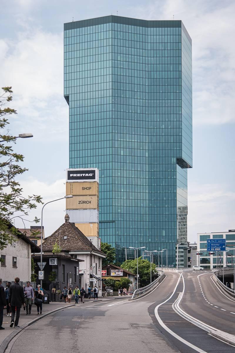 Zürich Reisetipps trickytine Sommer Prime Tower Industriequartier