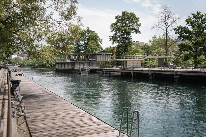 Zürich Reisetipps trickytine Sommer Limmat Badi