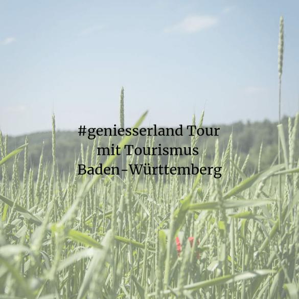 #geniesserland Tour mit Tourismus Baden-Württemberg
