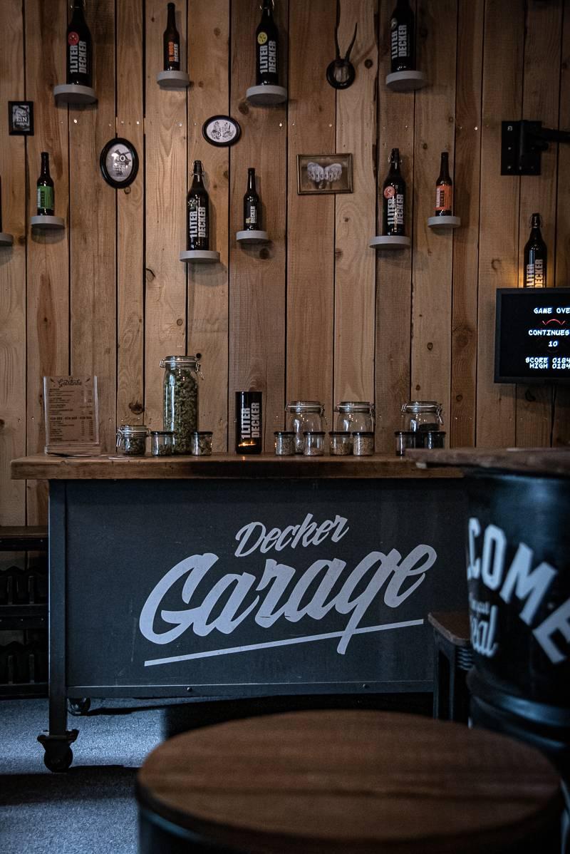 Bier Event Freiburg Decker Garage trickytine