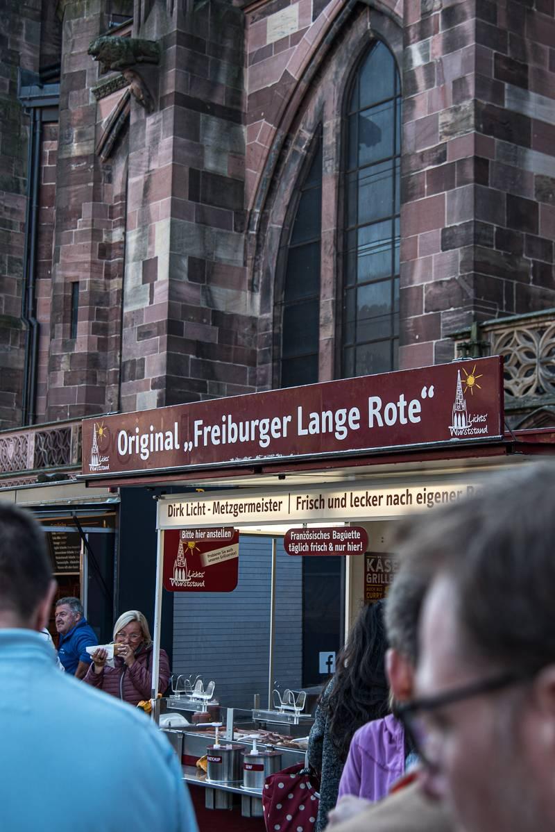 Freiburg Lange Rote Münsterplatz