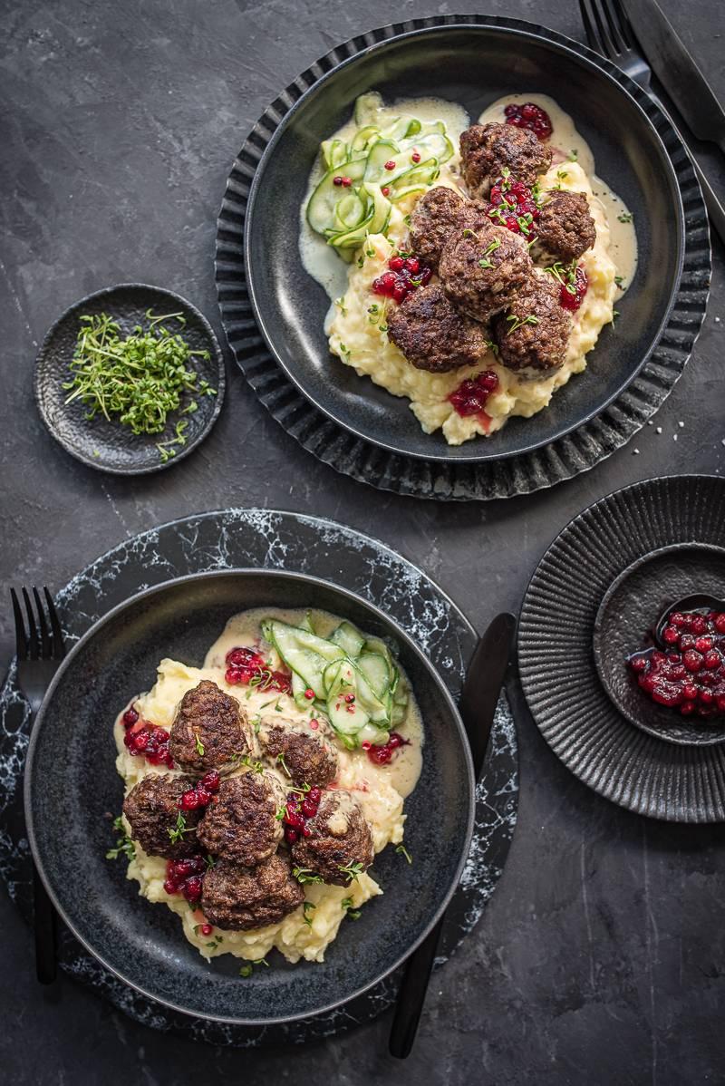 Köttbullar Love - das Rezept für köstliche schwedische Hackfleischbällchen