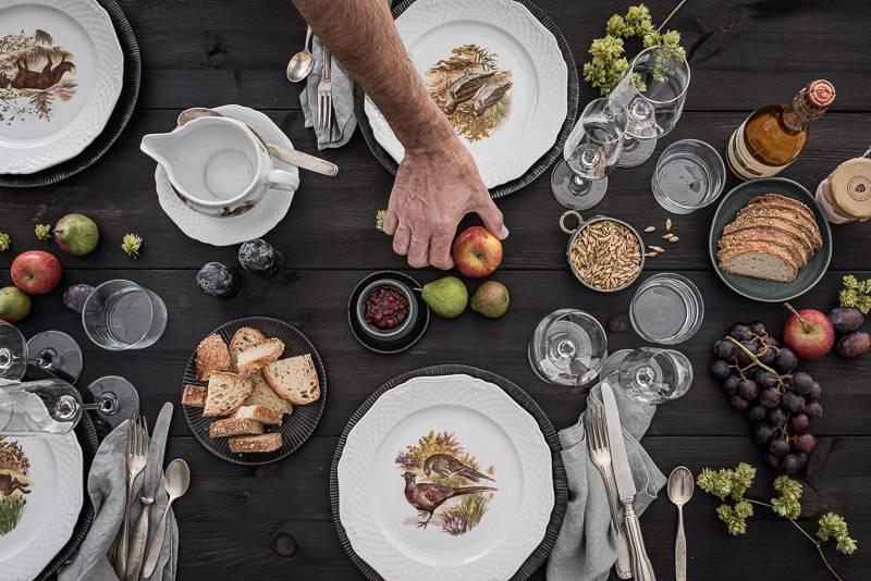 Geniesserland Baden-Wuerttemberg Menü trickytine Foodblog Tischdeko Herbst