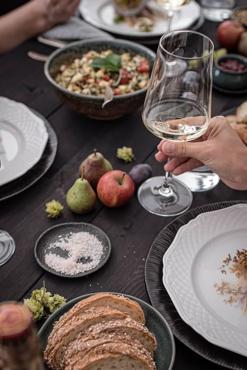 Geniesserland Riesling Stuttgart trickytine Foodblog Menü