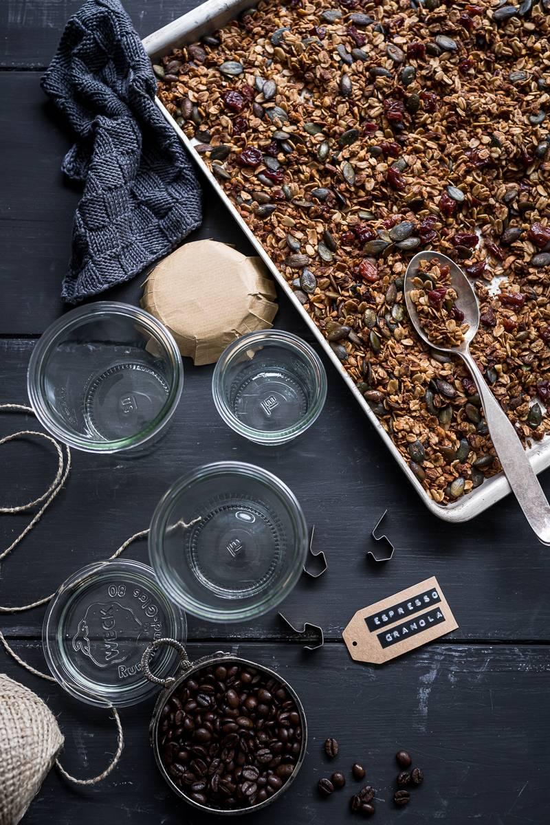 Espresso Granola trickytine