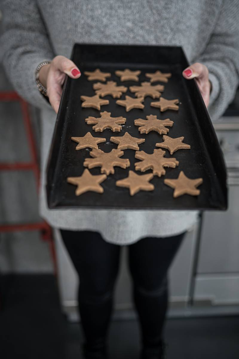 Pfefferkuchen Kekse trickytine