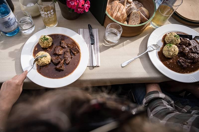 Südtirol Apollonia Restaurant trickytine