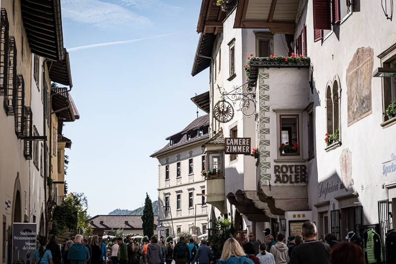 Südtirol Kaltern Bauernmarkt trickytine