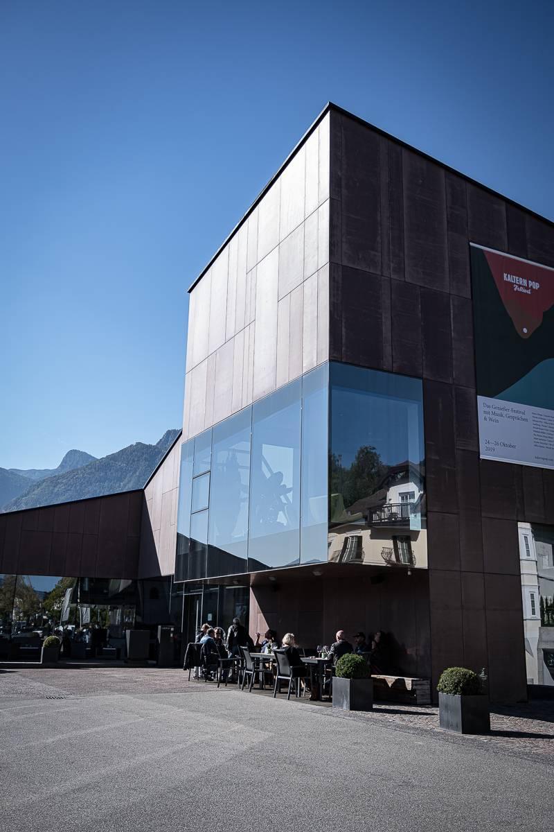 Südtirol Kaltern wine center trickytine