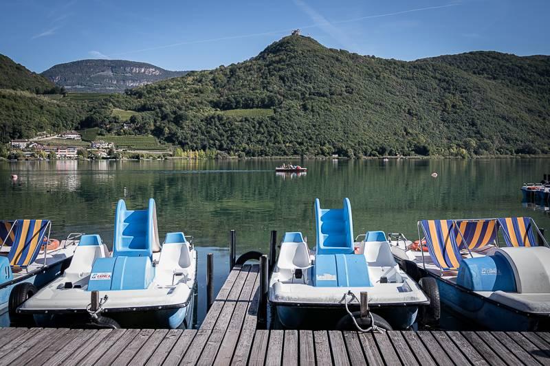 Südtirol Gretl am See Kalterer See trickytine