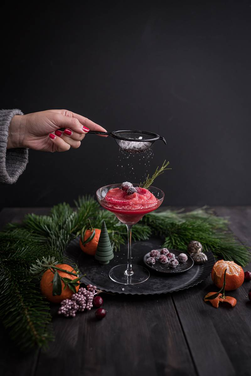Weihnachtsmenü trickytine Orange Christmas Slush