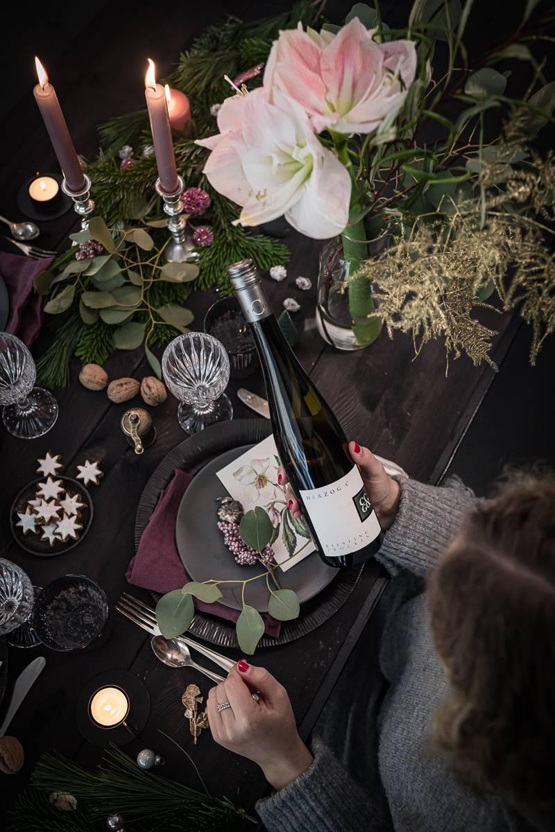 tricky Weihnachtsmenü Vorspeise: Lachstatar mit Gin und Meerrettich Crème Fraiche + Weinpaket Verlosung!