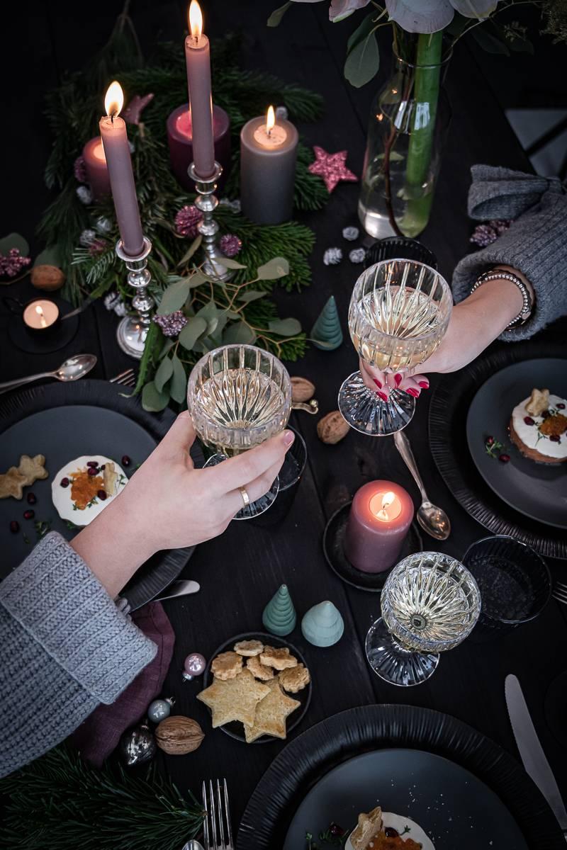 Lachstatar trickytine Weihnachten Vorspeise Rezept