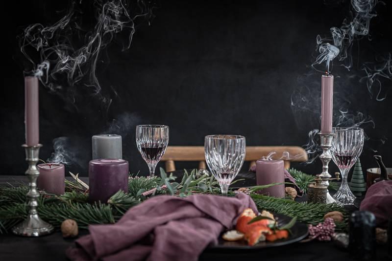 Tischdeko Weihnachten trickytine
