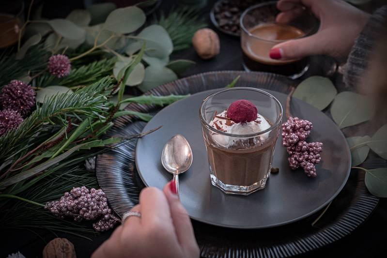 Pots de Crème Schokoladendessert trickytine