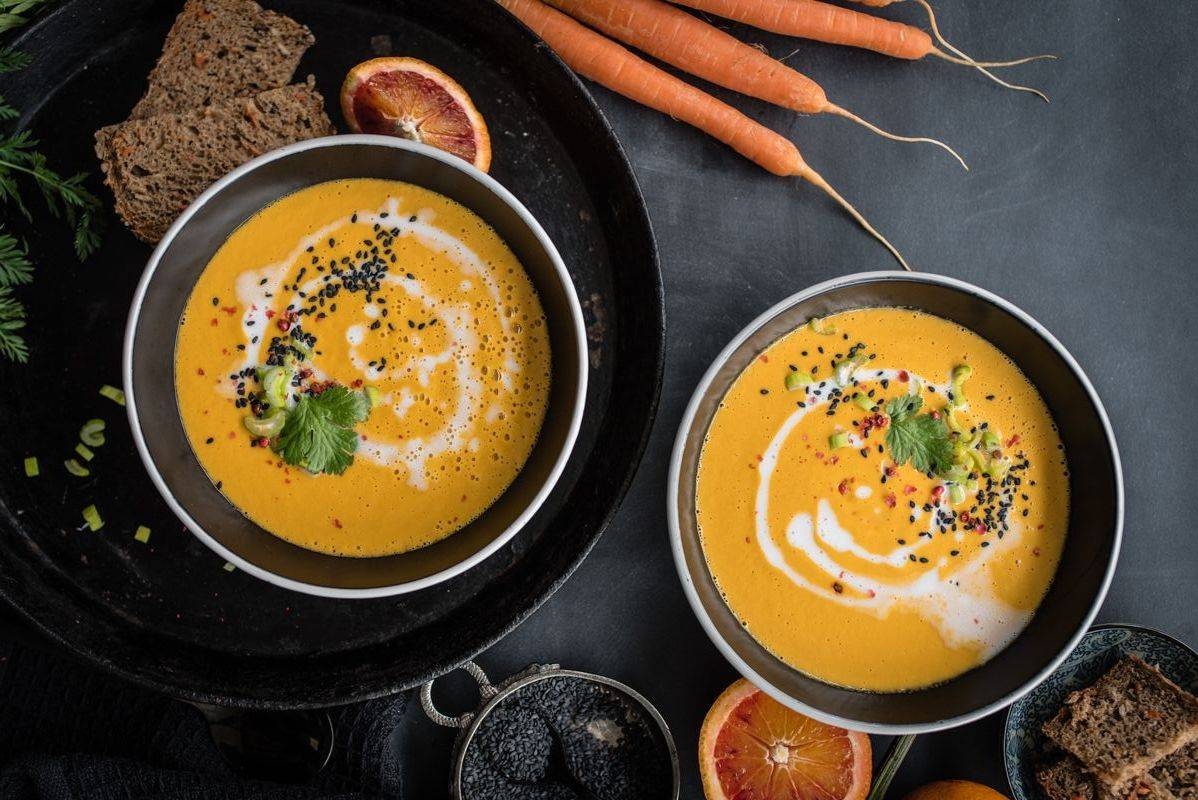 Vegane Karottensuppe trickytine