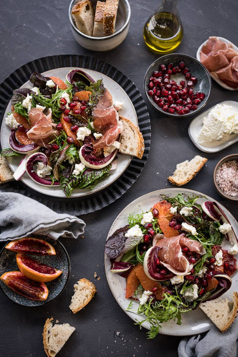 Blutorangen Salat trickytine SWR Rezept
