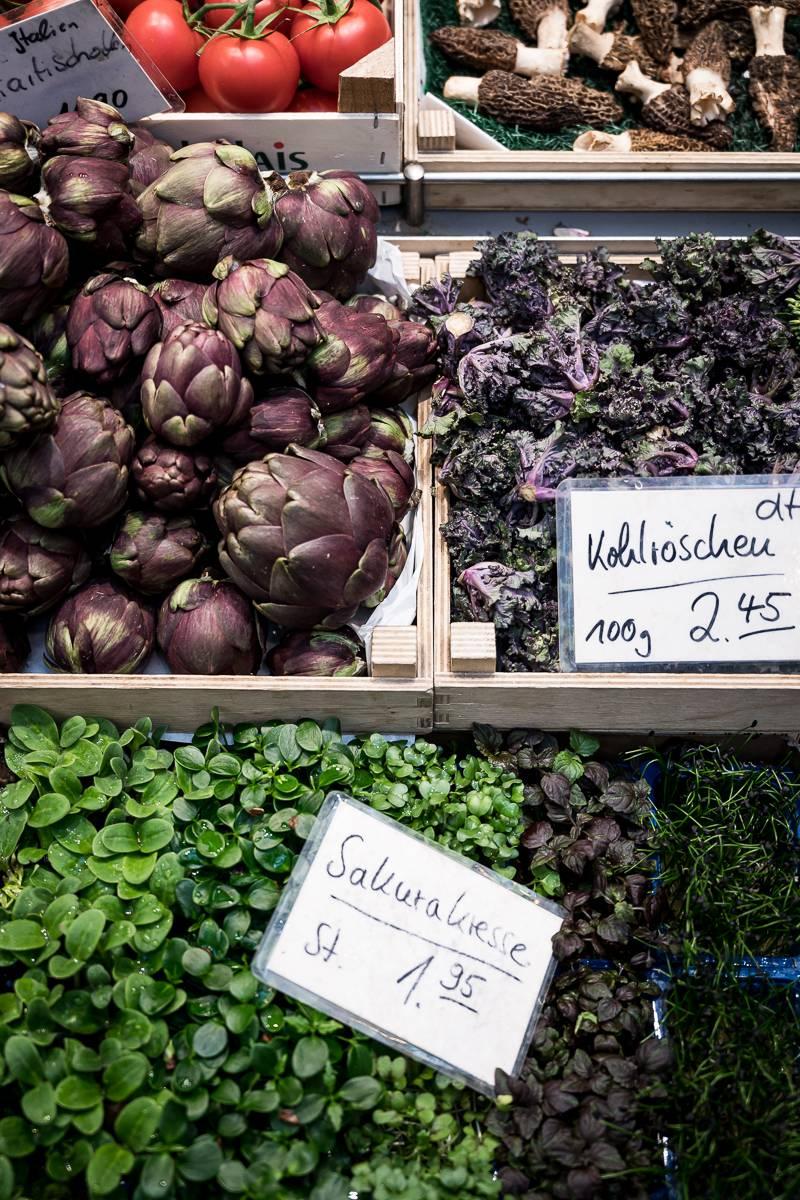 Blutorangen Salat trickytine Markthalle