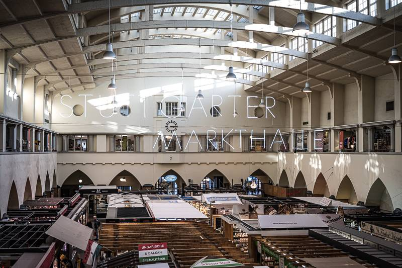 Blutorangen Salat Markthalle Stuttgart trickytine