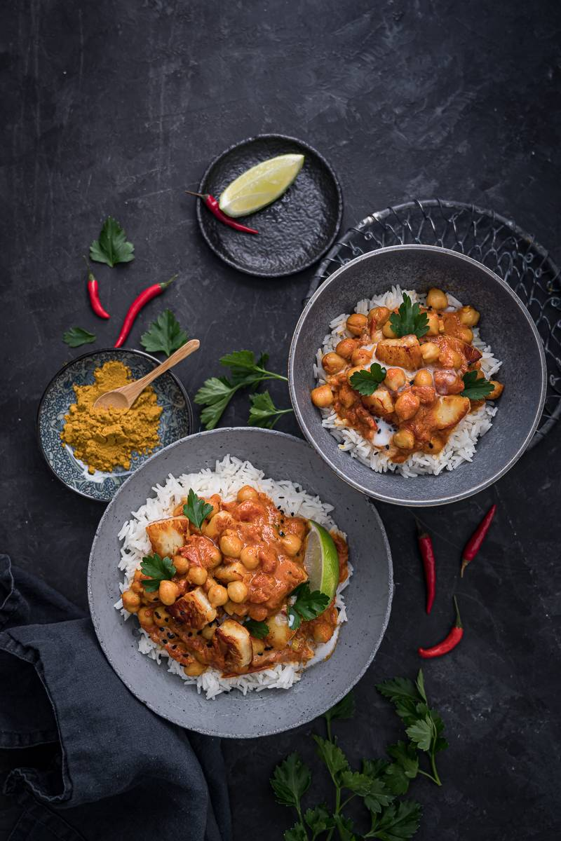 Kichererbsen-Curry Rezept trickytine