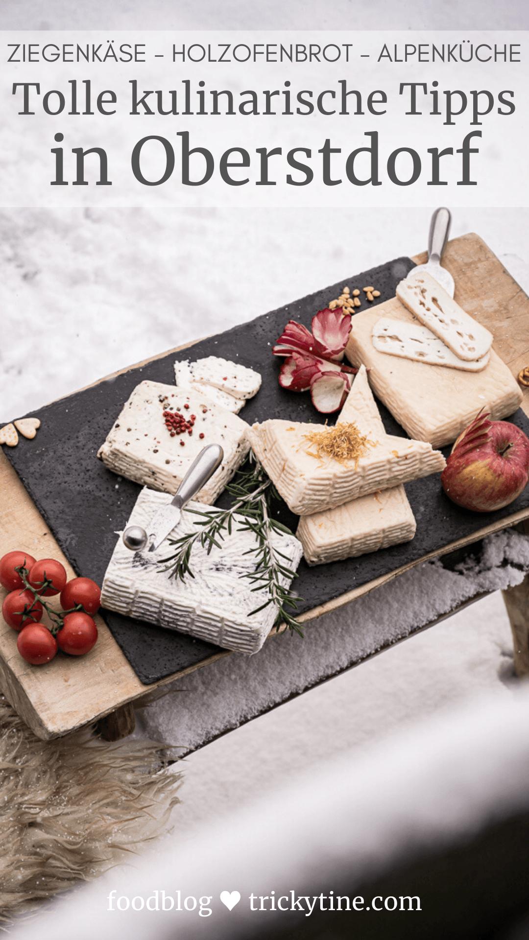 Oberstdorf kulinarische Tipps Pinterest trickytine