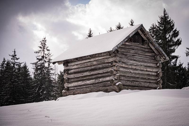 Oberstdorf trickytine Wanderung Gaisalpe Winter