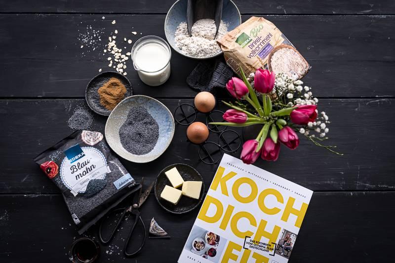 Koch dich fit Kochbuch EDEKA trickytine