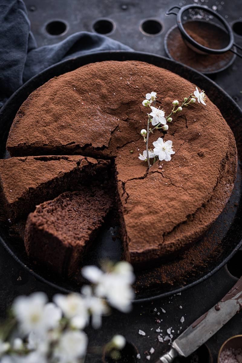 Schokokuchen Rezept trickytine Foodblog