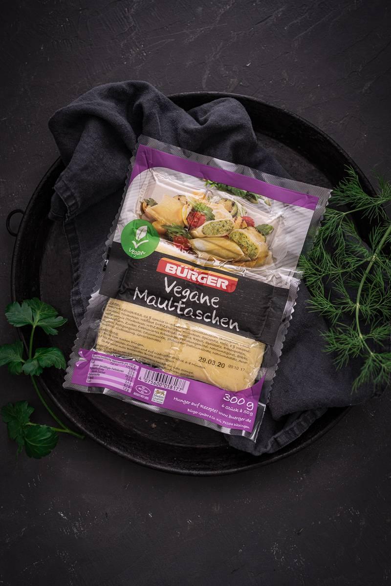 Maultaschen Green Goddess Kartoffelsalat Rezept trickytine