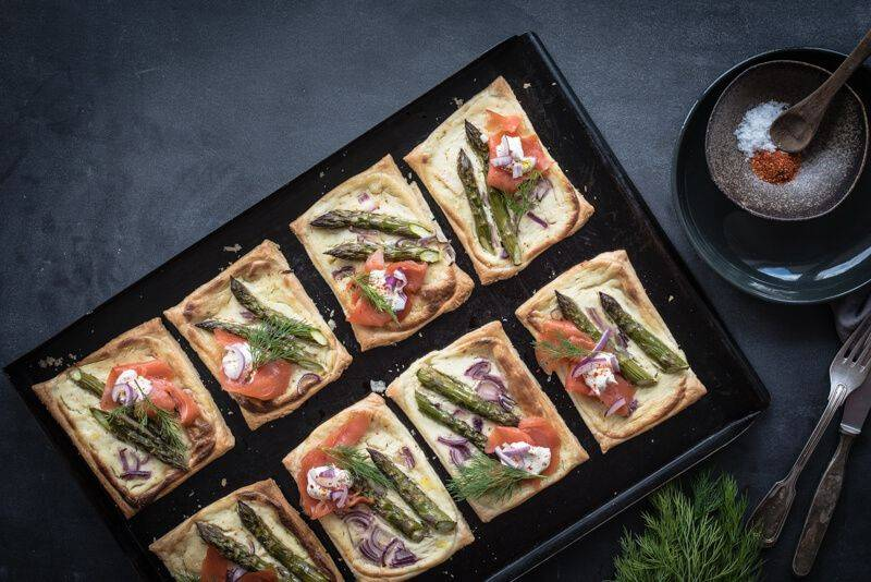 Spargel Rezept trickytine top 5 Blätterteig Tartelettes