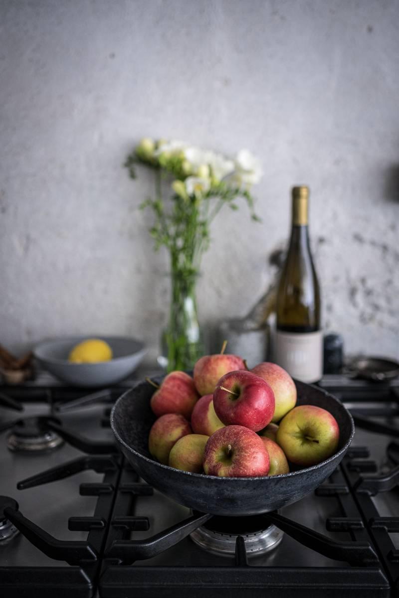 Apfelstrudel Dessert trickytine Suedtirol