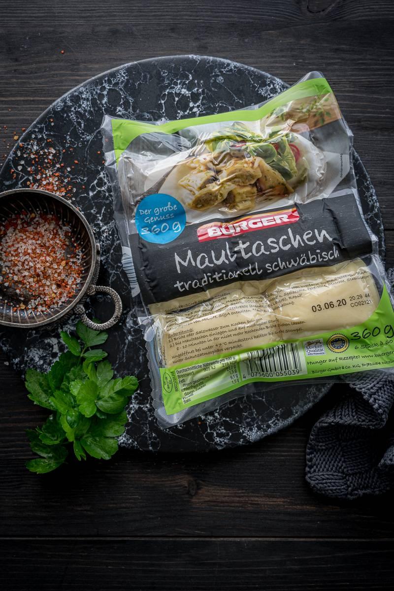 Maultaschen Shakshuka trickytine Rezept