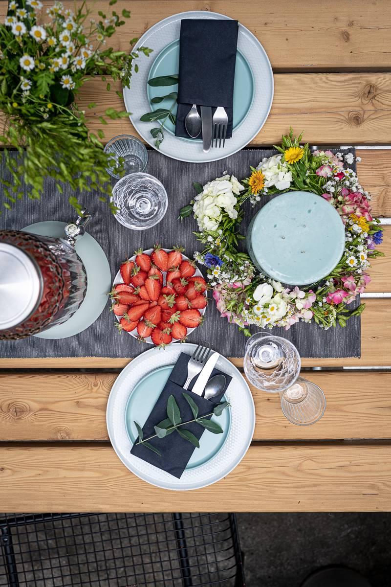 Midsommar Party Deko Rezepte trickytine IKEA