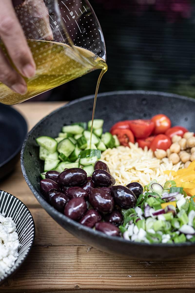 5 Salat-Rezepte, Orzo Nudelsalat