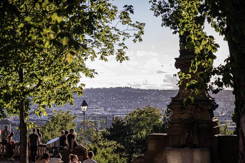 Stuttgart-Ost Tour trickytine Eugensplatz Galatea Brunnen