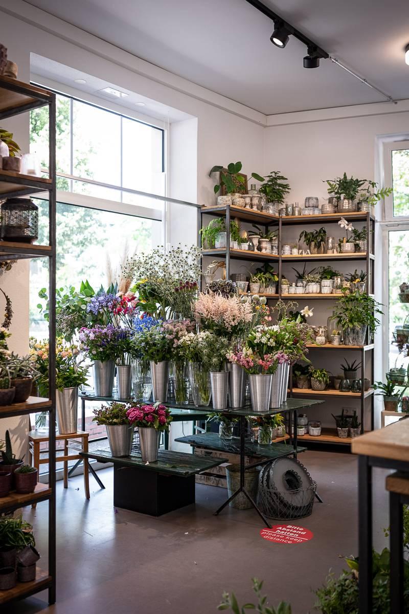 Stuttgart-Ost Tour trickytine Flowers Friends Blumenladen